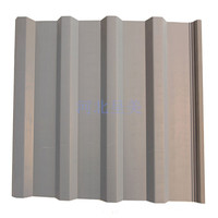 Corrugated PVC wall panel